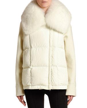 fb63c2417 Moncler Women's Jackets, Coats & More at Neiman Marcus