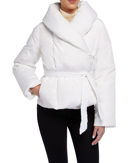 Saks Potts Bubble Puffer Jacket, White
