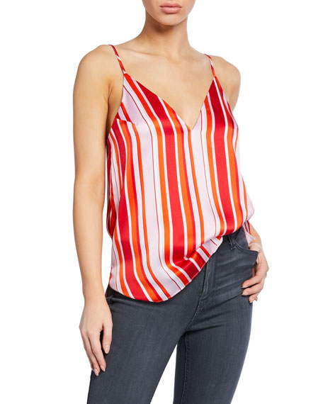 Cami NYC Olivia Striped Silk Camisole