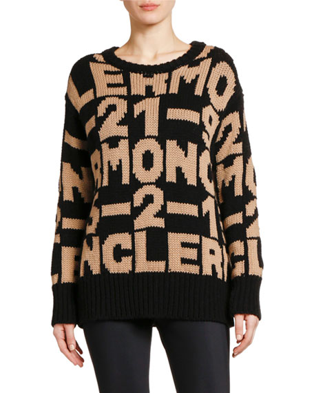 Moncler Knit Logo Sweater