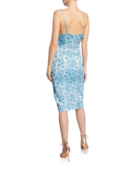 Likely Brooklyn Isla Brocade Sleeveless Cocktail Dress