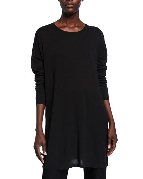 Eileen Fisher Lightweight Long-Sleeve Tunic