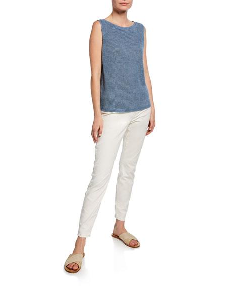 Eileen Fisher Undyed Organic Cotton Denim Jeggings