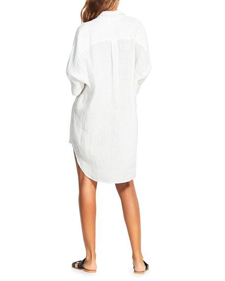 Seafolly Linen Shirtdress