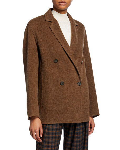 Vince Double-Breasted Cardigan Coat