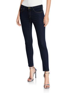 MICHAEL Michael Kors High-Waist Super Stretch Skinny Jeans
