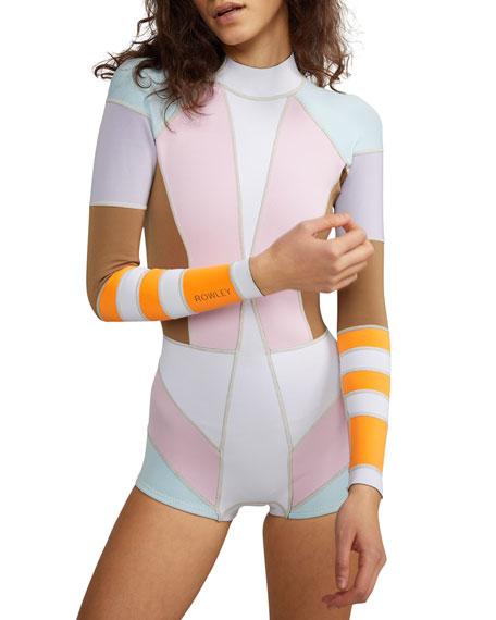 Cynthia Rowley Jordan Colorblock Wetsuit