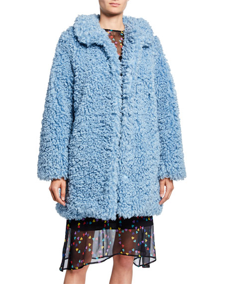 HVN Courtney Faux-Fur Coat