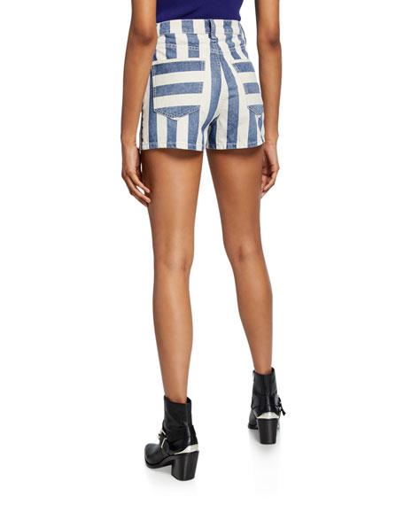 Current/Elliott The Westside Striped Shorts