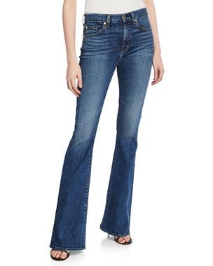 3b92f8bdf1 7 for all mankind Ali High-Waist Flare-Leg Jeans