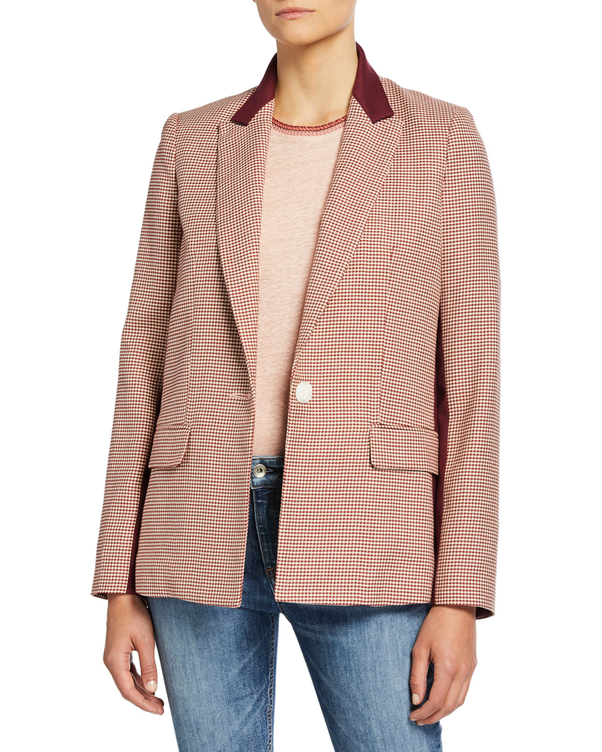 Elizabeth Single Button Blazer by Rag & Bone