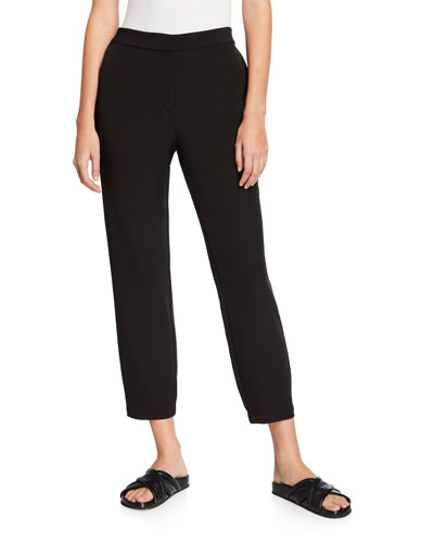 Sleek Recycled Polyester Track Pants