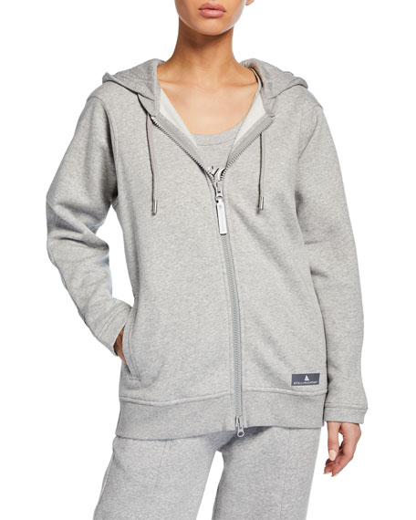 adidas by Stella McCartney Essentials Zip-Front Hoodie Jacket