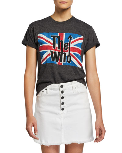 Shira The Who Roll-Sleeve Band Tee