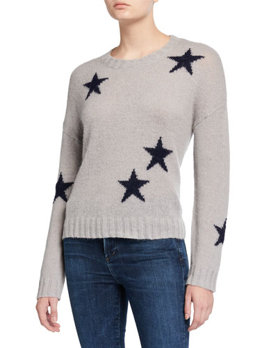 Perci Star Jacquard Wool Sweater