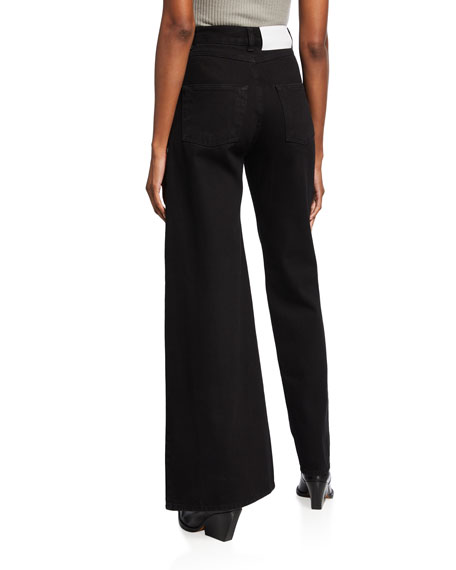 Ksenia Schnaider Asymmetric Skinny & Wide Jeans