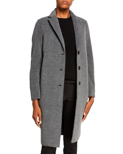 Single-Breasted Polaire Overcoat