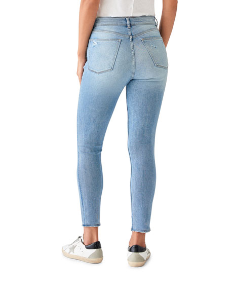 DL1961 Premium Denim Farrow Crop High-Rise Skinny Jeans