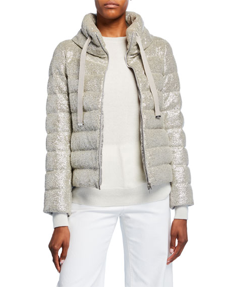 Herno Sparkle Quilted Coat