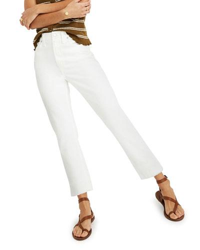 The High-Rise Slim Boy Jeans