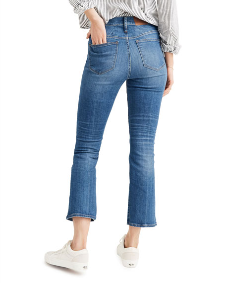 Madewell Cali High-Rise Crop Boot-Cut Jeans - Inclusive Sizing