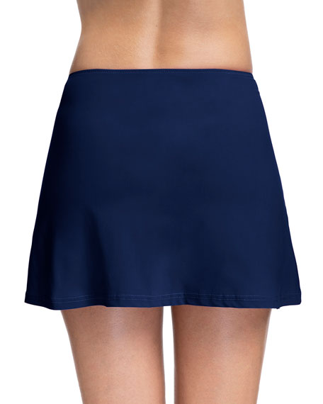 Profile by Gottex Moto Coverup Swim Skirt