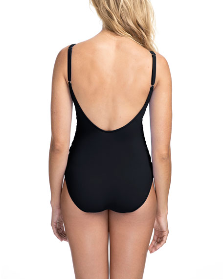 Profile by Gottex Date Night Cutout One-Piece Swimsuit