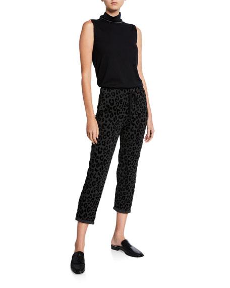 Majestic Filatures Leopard-Print Lounge Pants