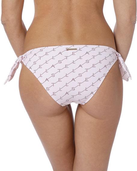 Stella McCartney Monogram Side-Tie Bikini Bottom
