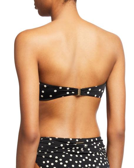 Stella McCartney Polka Dot Bandeau Bikini Top