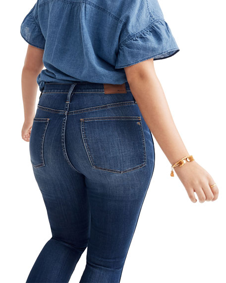 """Madewell 10"""" High-Rise Skinny Jeans - Inclusive Sizing"""