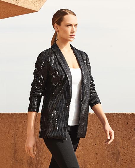 Joan Vass Sequined Jacket