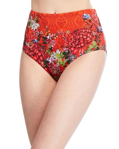 High-Rise Basic Bikini Bottom