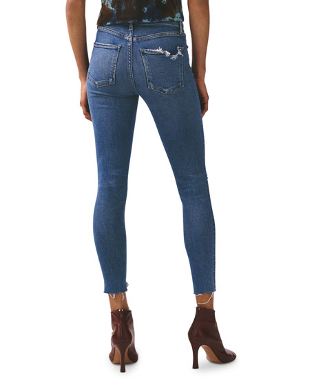 AGOLDE Sophie High-Rise Ankle Skinny Jeans