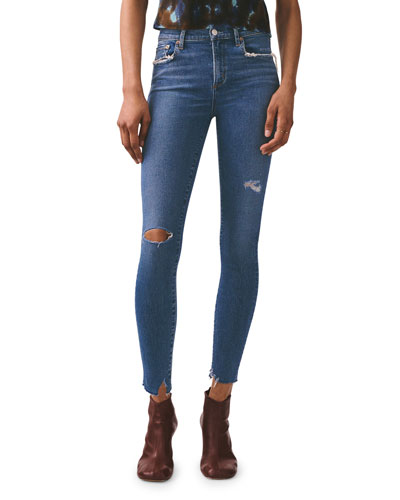 Sophie High-Rise Ankle Skinny Jeans