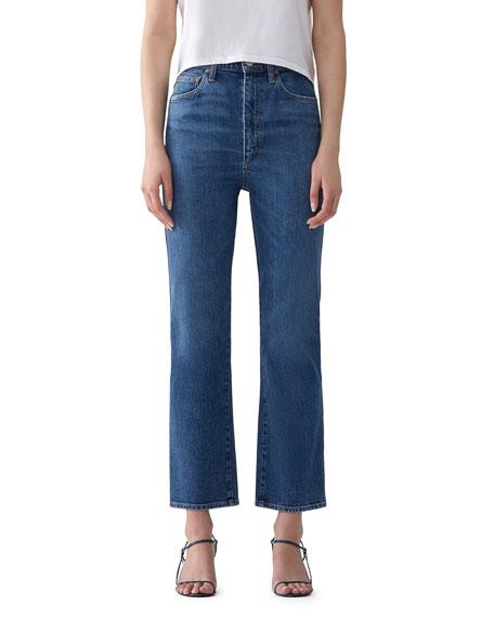 AGOLDE Pinch Waist High-Rise Kick Jeans