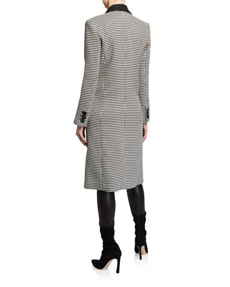 Alice + Olivia Sienna Long Blazer Coat