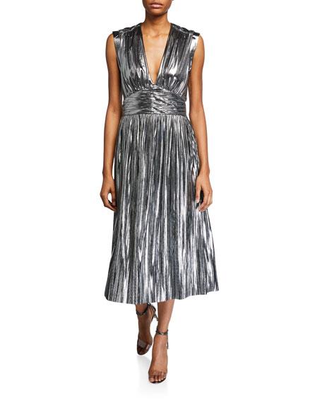 Rebecca Minkoff Briella Metallic Cocktail Dress