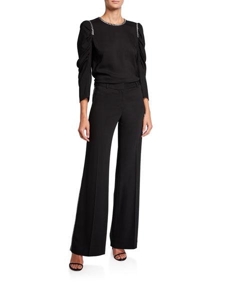 Kobi Halperin Janelle Pants with Embellished Trim