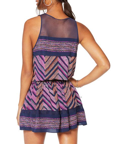 Ramy Brook Angelica Printed Sleeveless Dress