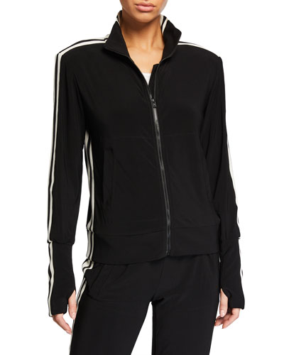 Side-Stripe Turtle Track Jacket