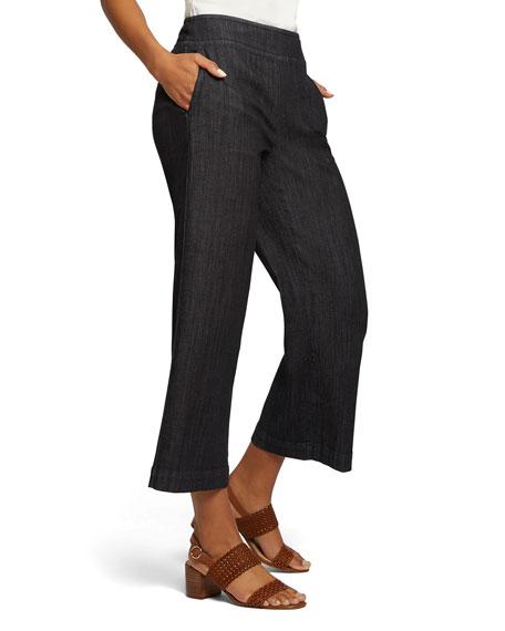 NIC+ZOE Summer Day Wide-Leg Denim Pants