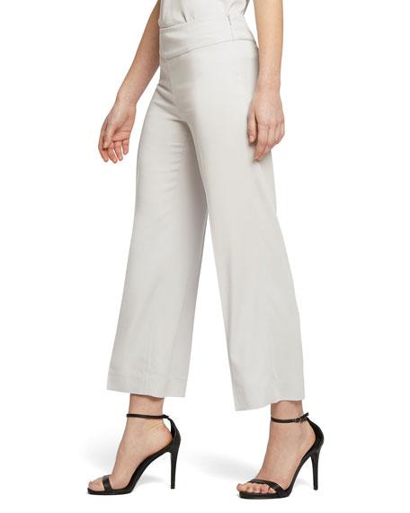 NIC+ZOE Sleek Lines Wide-Leg Crop Pants