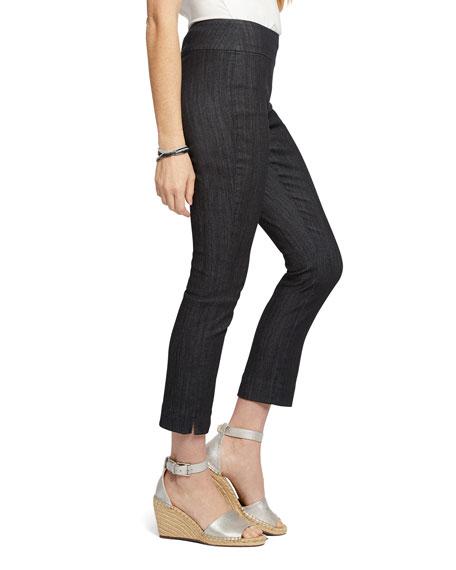 NIC+ZOE Plus Size All Day Denim Capri Pants