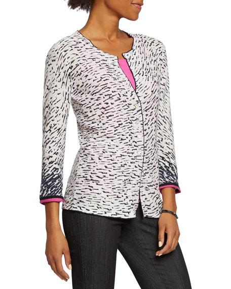 NIC+ZOE Plus Size Pick Up 3/4-Sleeve Cardigan