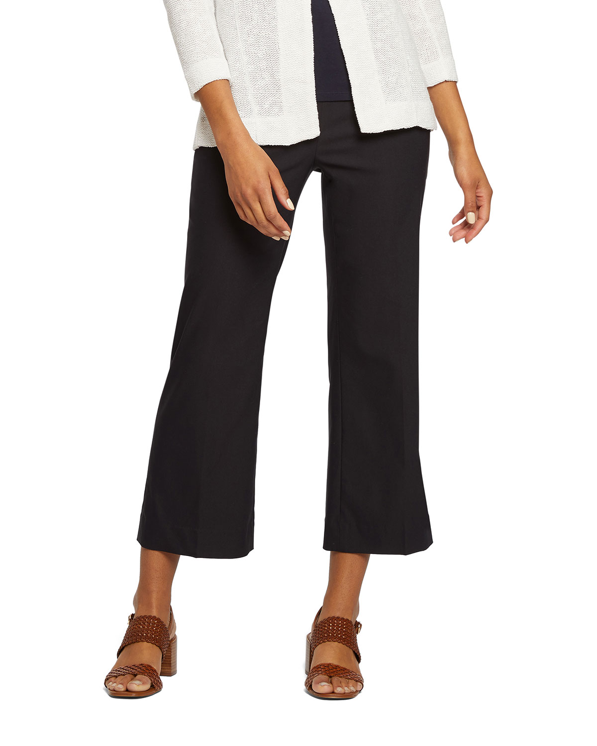 NIC+ZOE Plus Size Everyday Polished Wonderstretch Crop Pants
