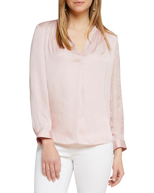 e881520f70 Relaxed Fit Shirts   Blouses for Women at Neiman Marcus