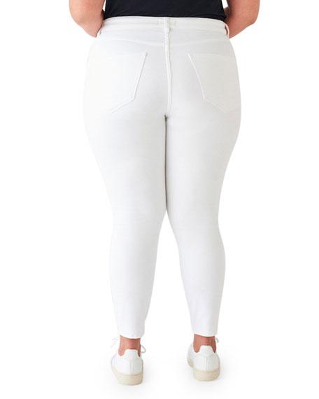 DL1961 Premium Denim Farrow Mid-Rise Ankle Skinny Jeans - Inclusive Sizing