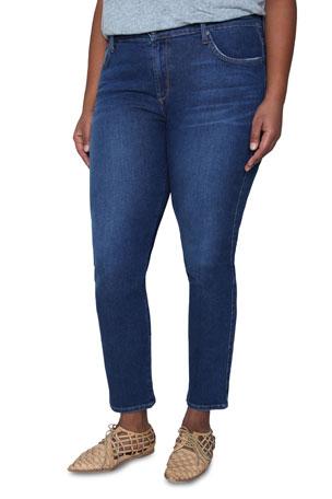 James Jeans Plus Size Pencil Twiggy Ankle Cigarette Jeans