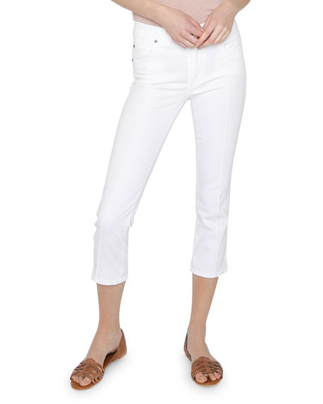 James Jeans Piper Cropped Cigarette Jeans